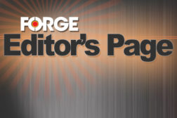 Editor's Page FORGE Magazine
