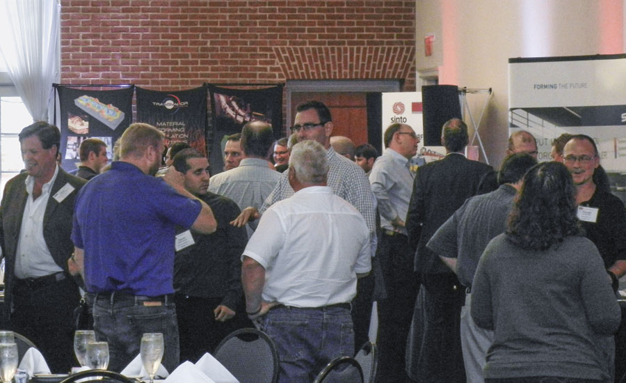 Exhibit hall at FIA and FIERF's 31st Technical Conference