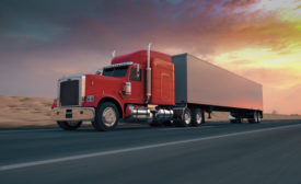 Semi-truck