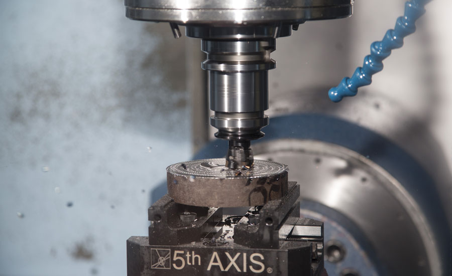 XSYTIN-1 tool used in a milling operation