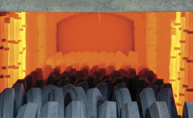 Forged parts receive thermal treatment
