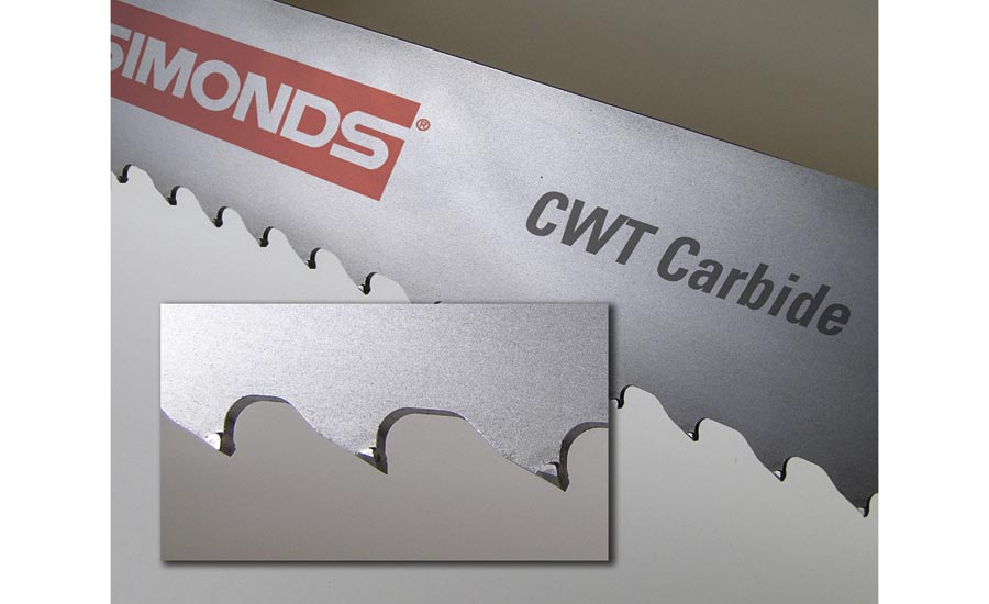 Carbide-Tipped Band-Saw Blades