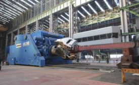 New Rail-bound Forging Manipulator