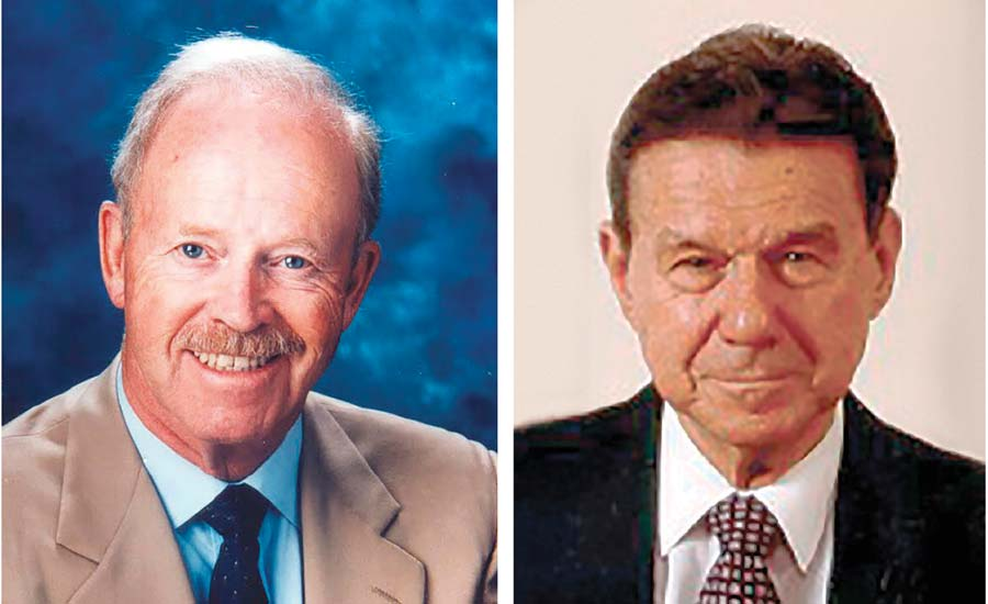 Philip Crosby and Dr. Armand Feigenbaum