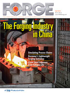 FORGE April 2016 Cover
