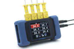 RDXL6SD six-channel, handheld temperature data logger