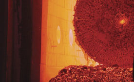 Forging furnace (shuttle kiln)