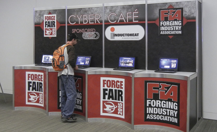 Forge Fair's complimentary Cyber Cafe