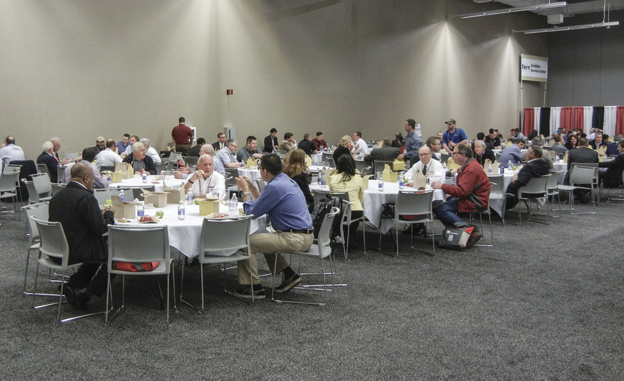 FORGE sponsored breakfast on the second day