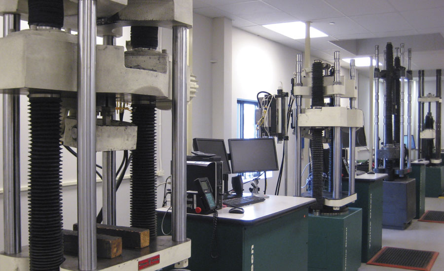 Diversity of machinery is used for dynamic testing of forging materials