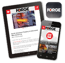 FORGE mobile app